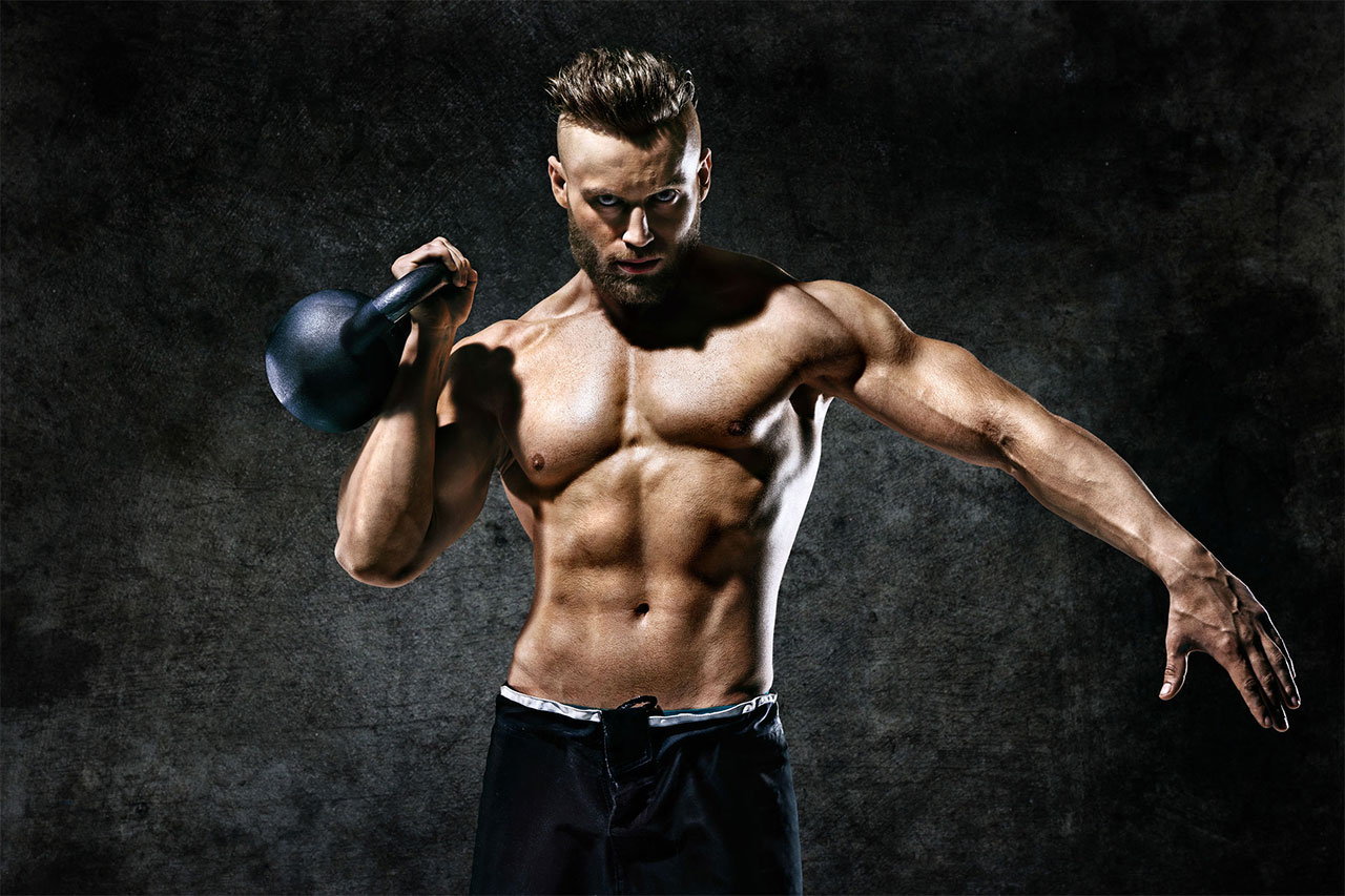 Kettlebell Exercises for Muscle MASS!