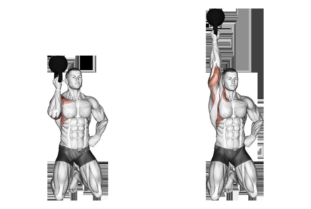 one-arm-kettlebell-kneeling-reverse