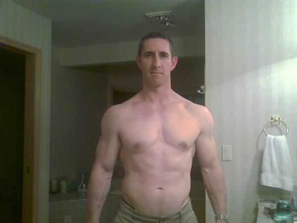 Greg after