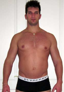 Vince before